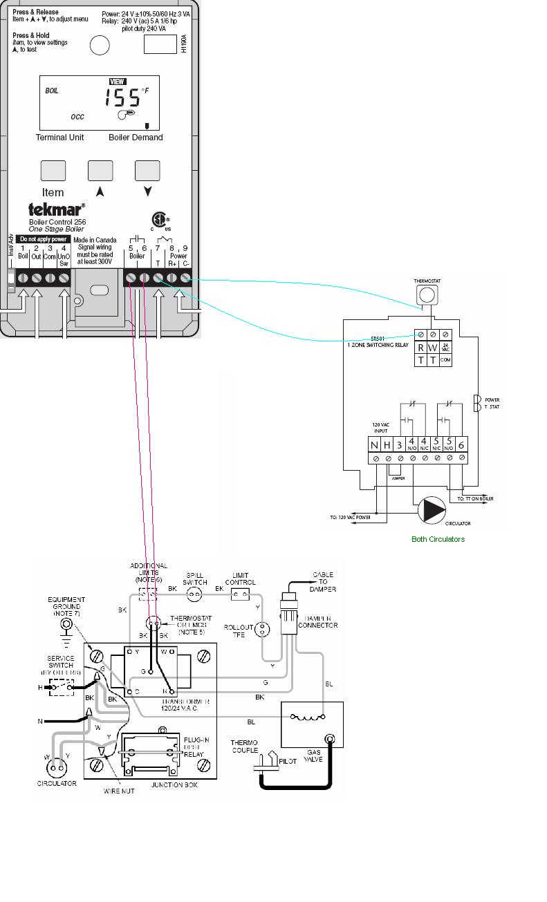 hight resolution of tekmar 256 wiring diagram download boiler wiring weil cga tekmar 256 taco sr501 and t download wiring diagram