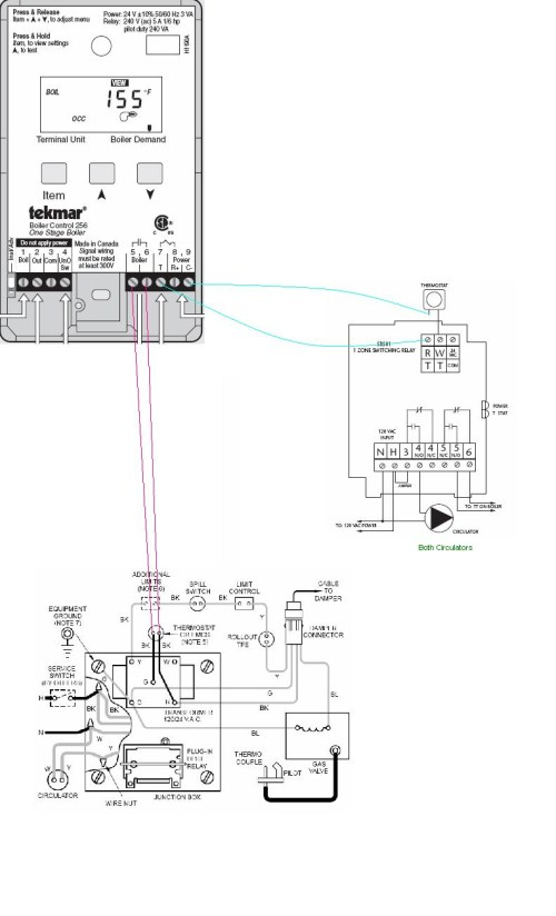 small resolution of tekmar 256 wiring diagram download boiler wiring weil cga tekmar 256 taco sr501 and t download wiring diagram