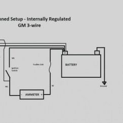 One Wire Alternator Wiring Diagram Mopar 1997 Ford F 150 Parts Three Sample