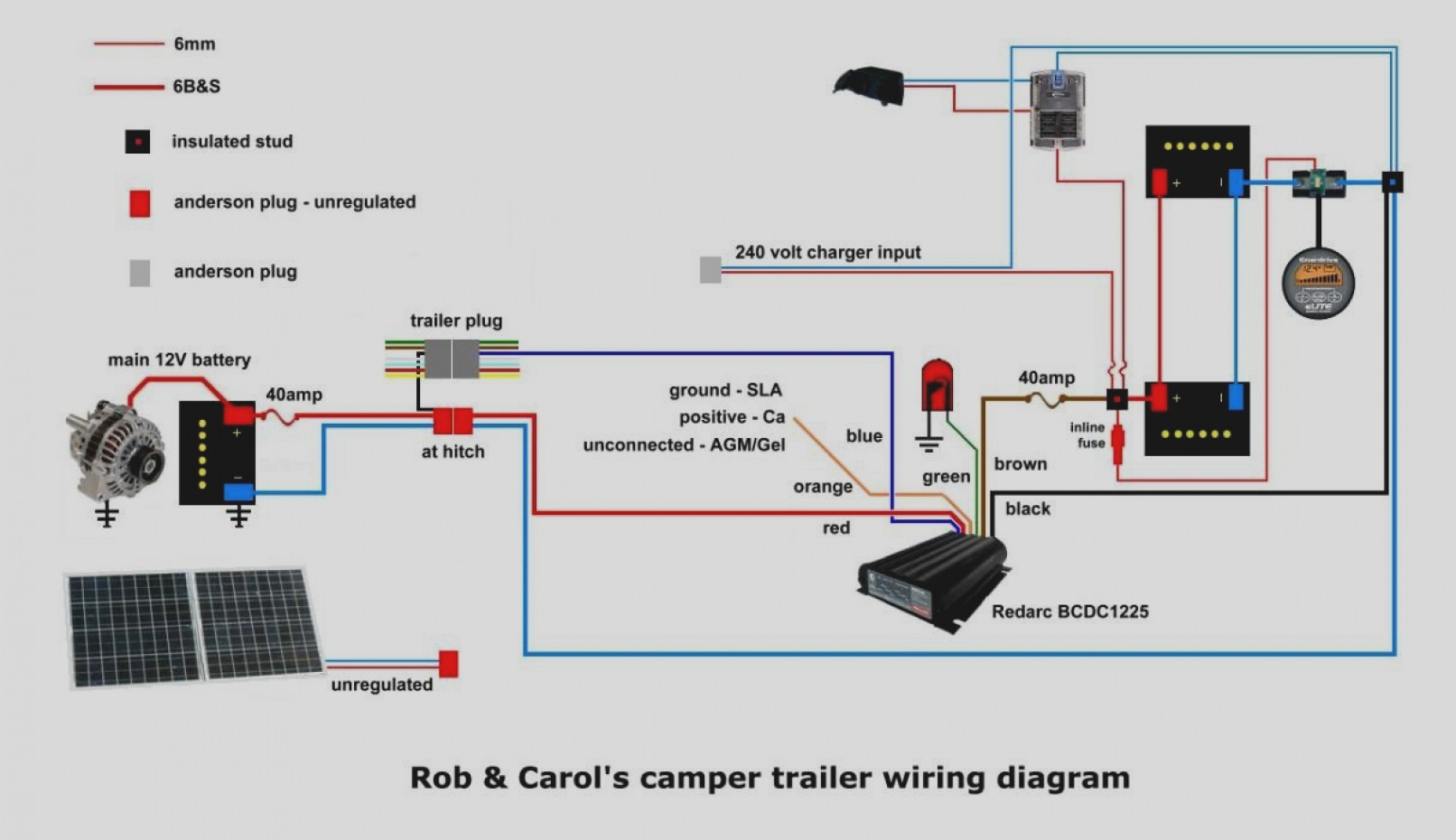 12 volt wiring diagram for trailer motor lead tow hitch sample
