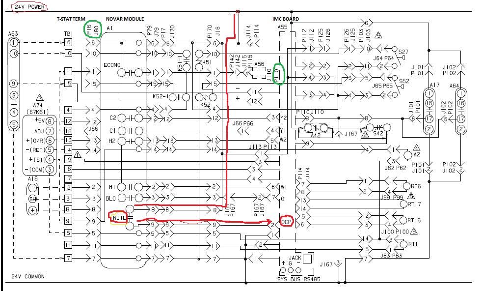 Ych Trane Rooftop Unit Wiring Diagrams. Trane Xe1000