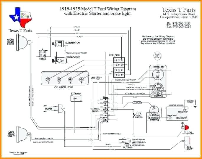Ford Model T Wiring Diagram - All Diagram Schematics on