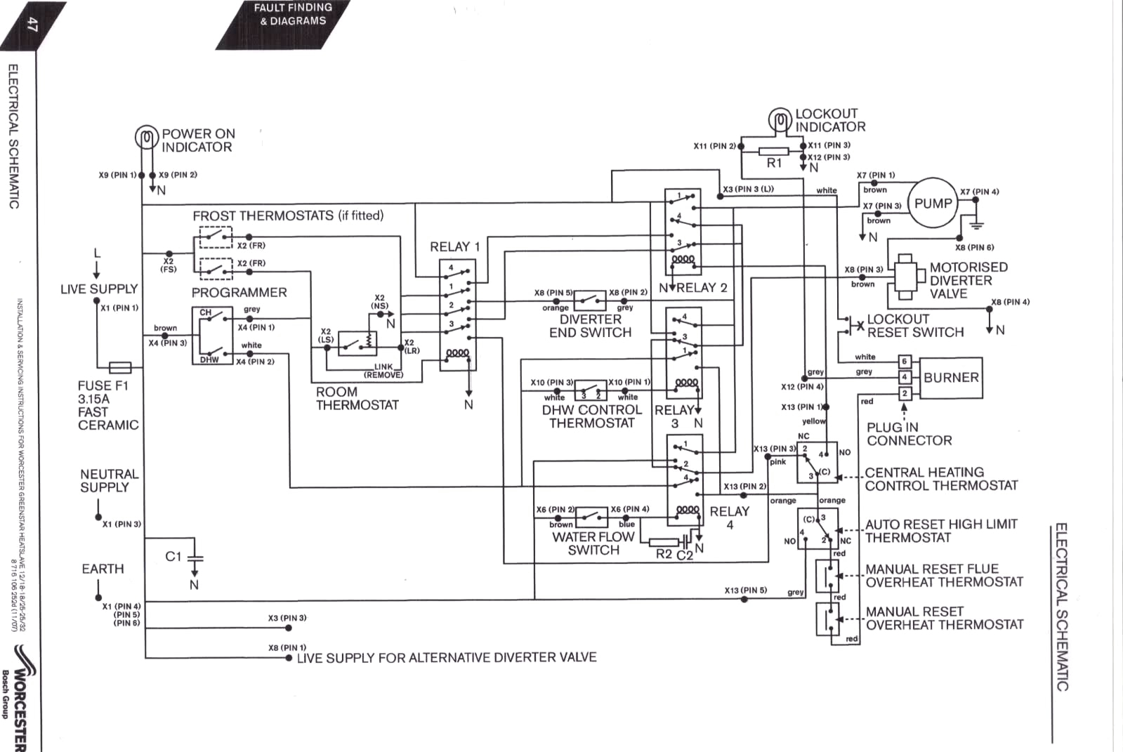 Boiler Wiring Schematic Auto Electrical Wiring Diagram