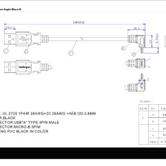 Usb 3 0 Micro B Wiring Diagram 480v To 240 120v Transformer 2 Connector Best Library Rj45 Cable Collection Cat5 New 1m
