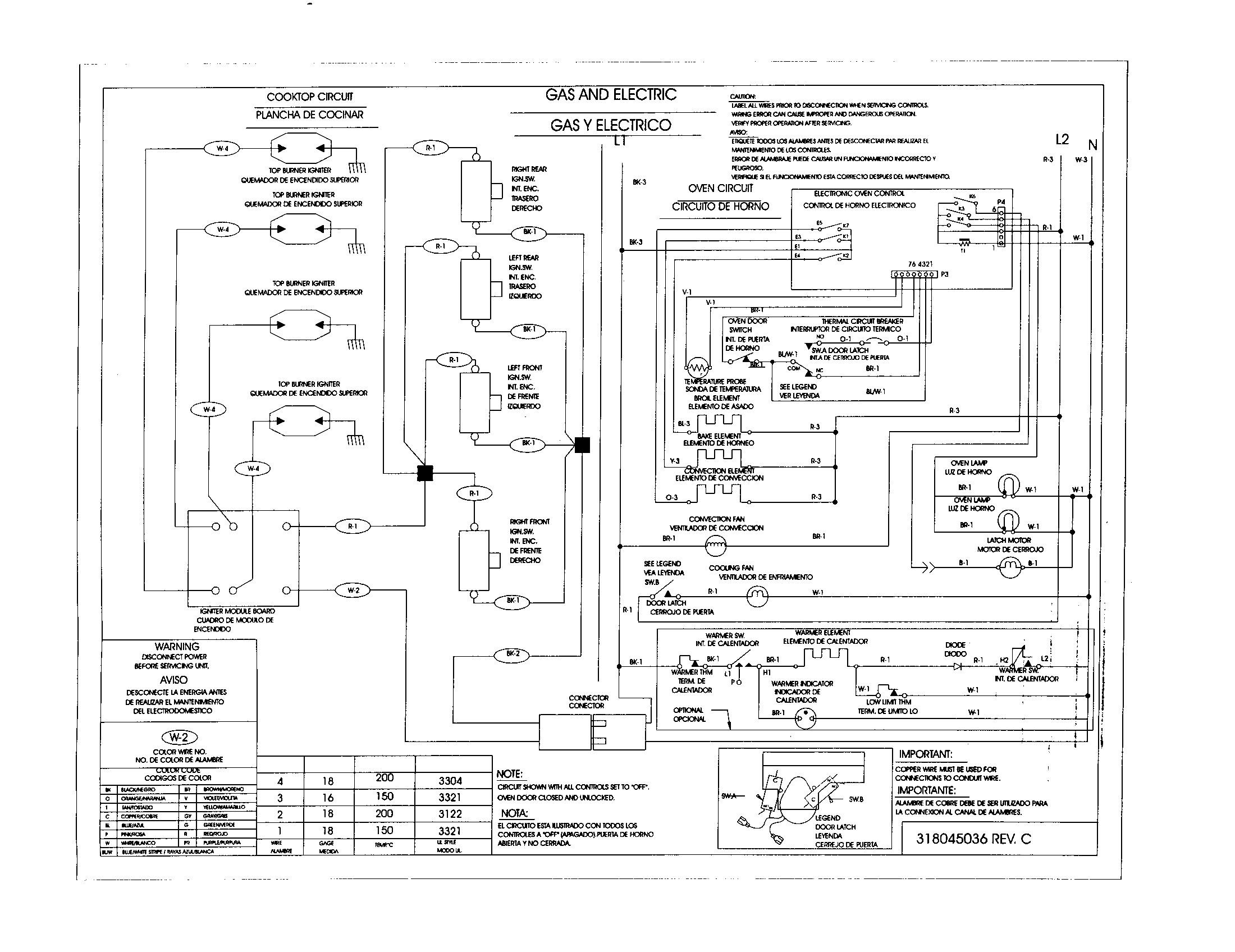 Kitchenaid Range Wiring Diagram