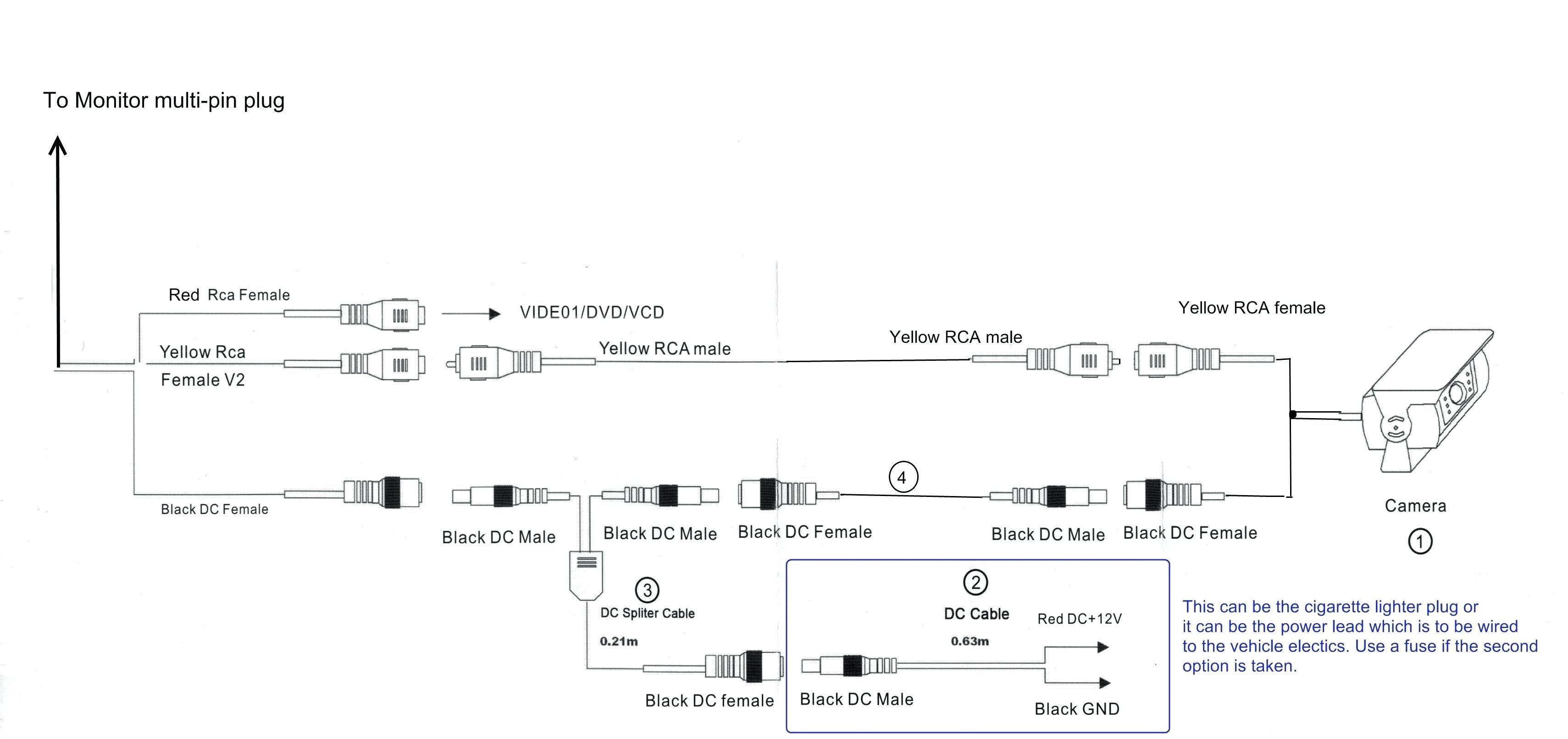 Voyager Camera Wiring Diagram   Wiring Diagram on weldex wdrv 3007m, weldex monitor repair, pioneer backup camera wiring diagram, pyle backup camera wiring diagram, sony backup camera wiring diagram,