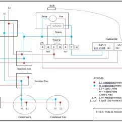 Defrost Termination Switch Wiring Diagram Uverse Walk In Cooler Sample |