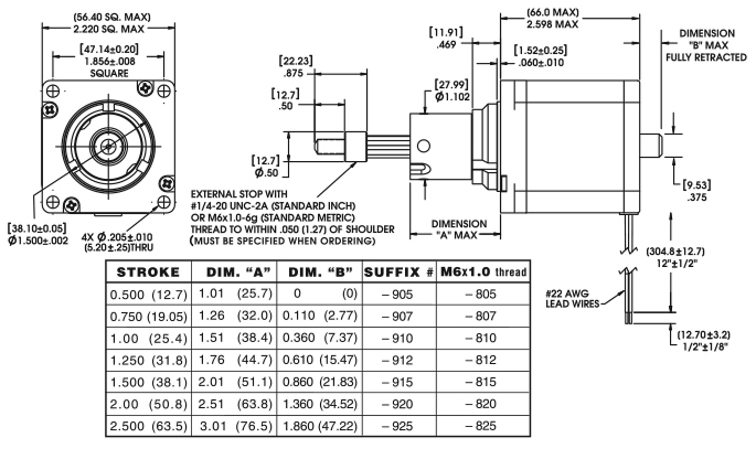 Eagle Andco Linear Actuator Wiring Diagram. Electric Motor