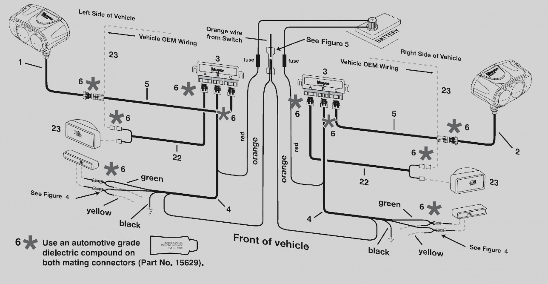 western plow controller wiring diagram vdo tachometer diesel snow solenoid download for plows awesome