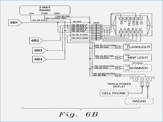 galls traffic flasher wiring diagram