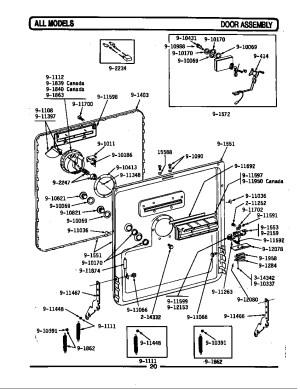 Whirlpool Gold Series Dishwasher Wiring Diagram  Wiring