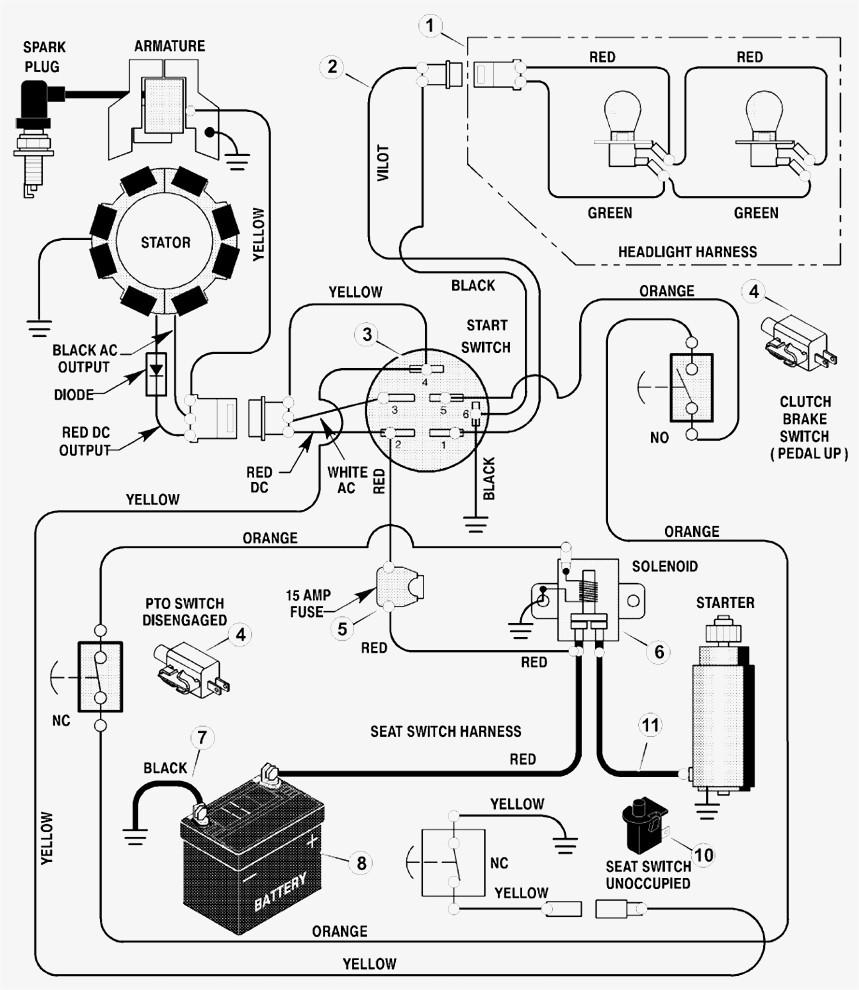 medium resolution of wiring diagram for craftsman riding lawn mower download wiring riding lawn mower wiring diagram for 917 273480