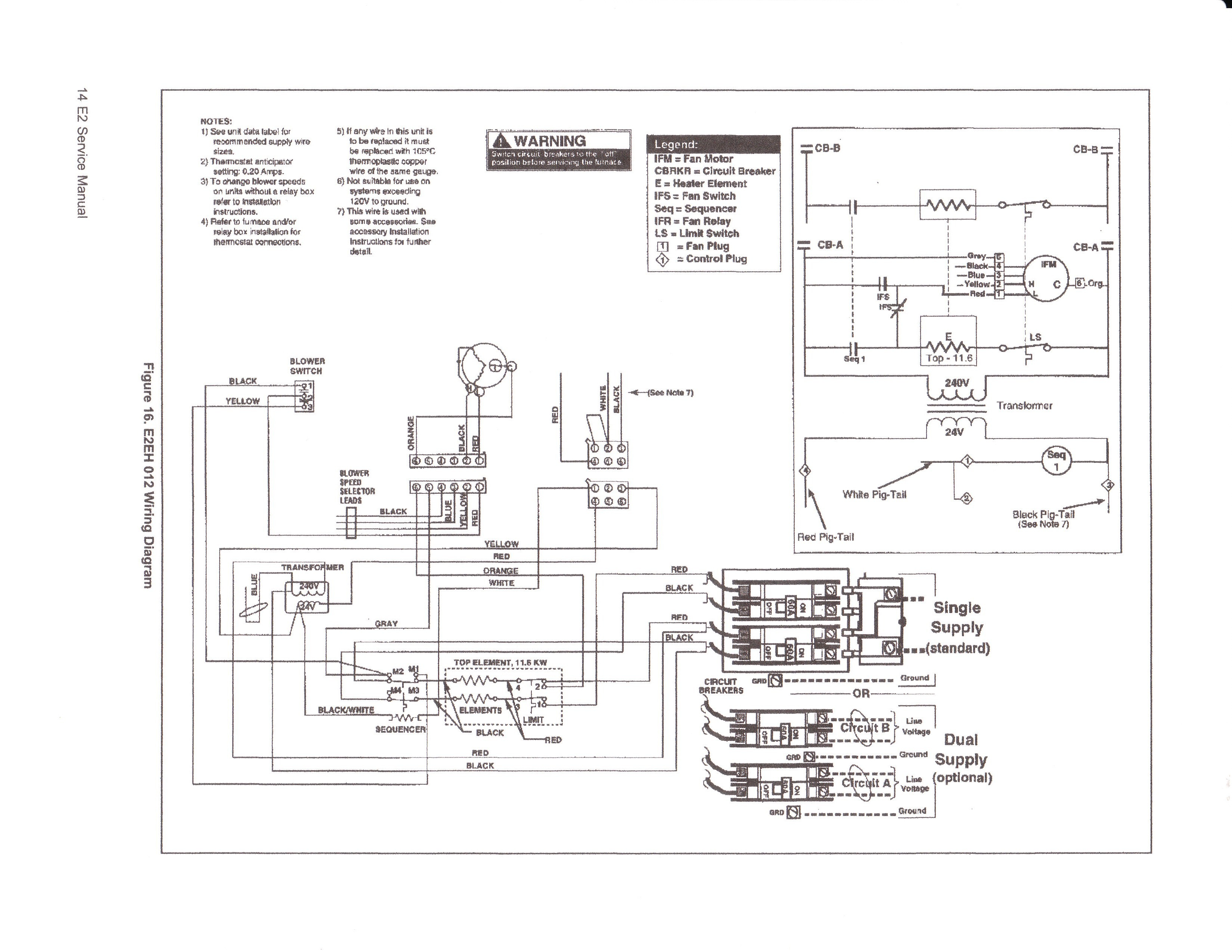 goodman electric furnace wiring diagram of window type air conditioning for mobile home gallery