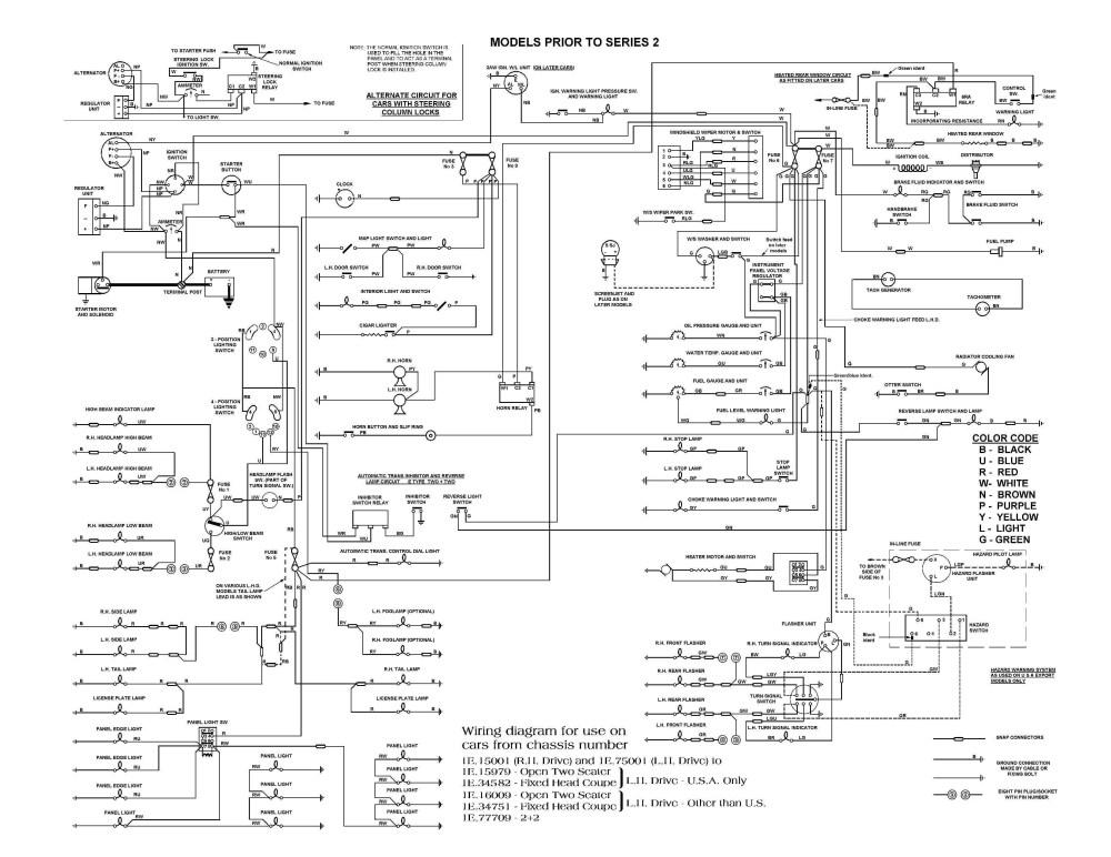 medium resolution of e type series 3 wiring diagram wiring 1997 vw beetle vw beetle carburetor wiring