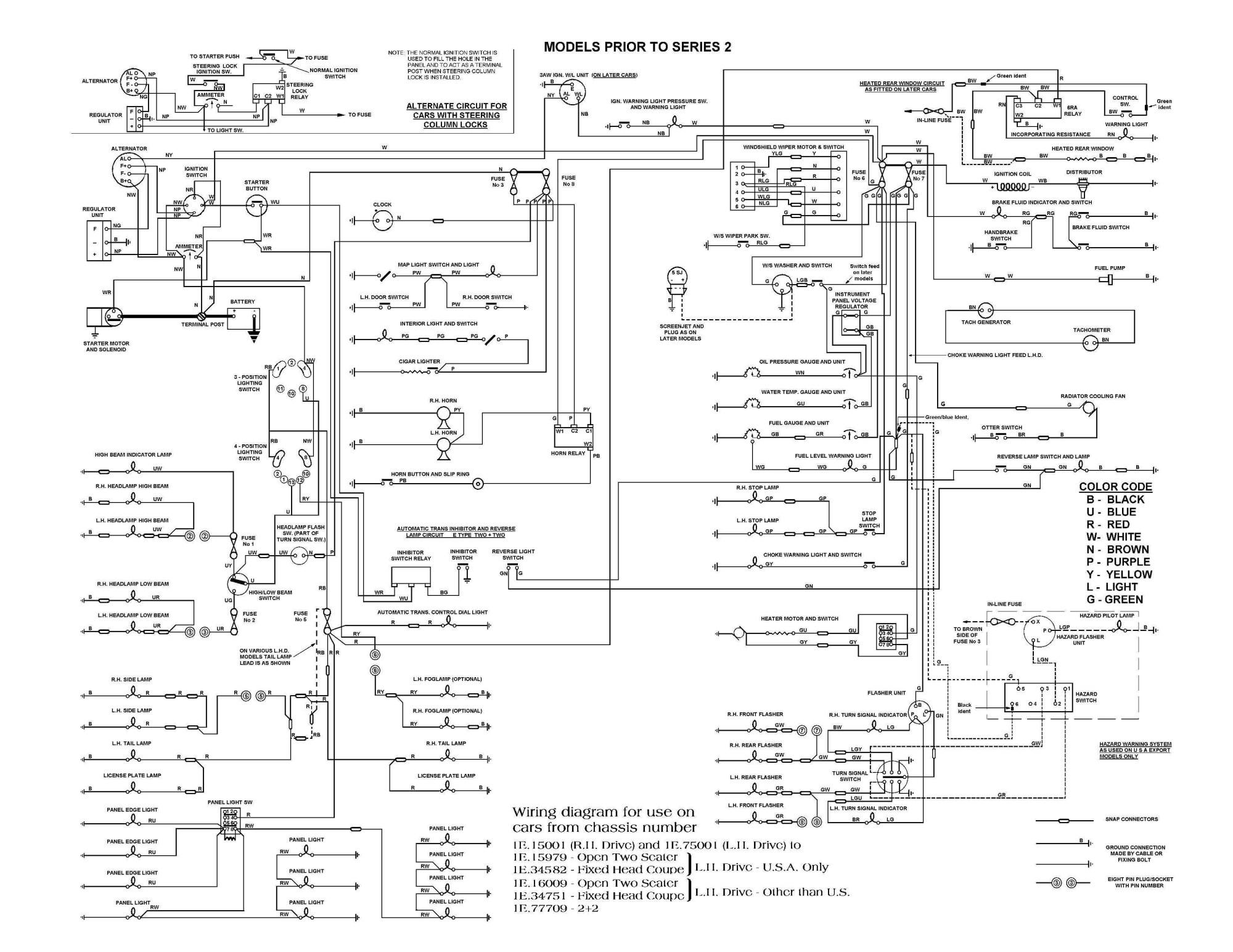 hight resolution of e type series 3 wiring diagram wiring 1997 vw beetle vw beetle carburetor wiring
