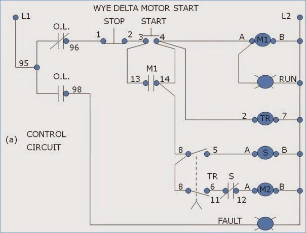Delta Run Motor Wiring Motorssiteorgrhmotorssiteorg: Wye Start Delta Run Wiring Diagram At Gmaili.net