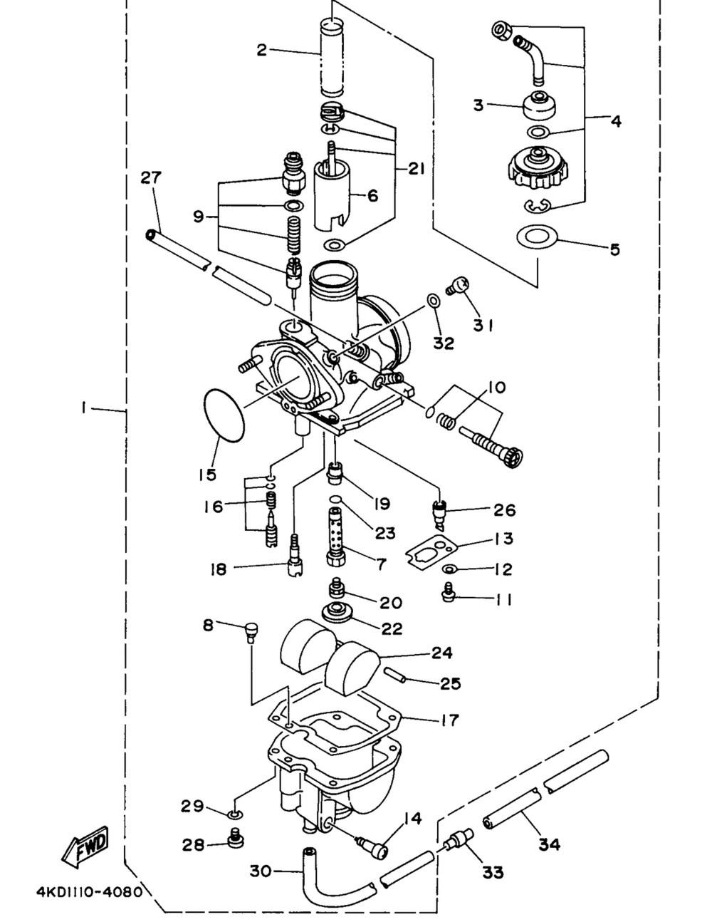 medium resolution of xsvi 6502 nav wiring diagram collection carburetor wiring diagram new 1998 yamaha timberwolf 250 2wd