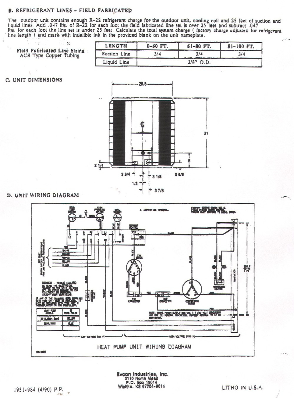 medium resolution of york heat pump wiring diagrams simple wiring diagram rh david huggett co uk coleman evcon heat