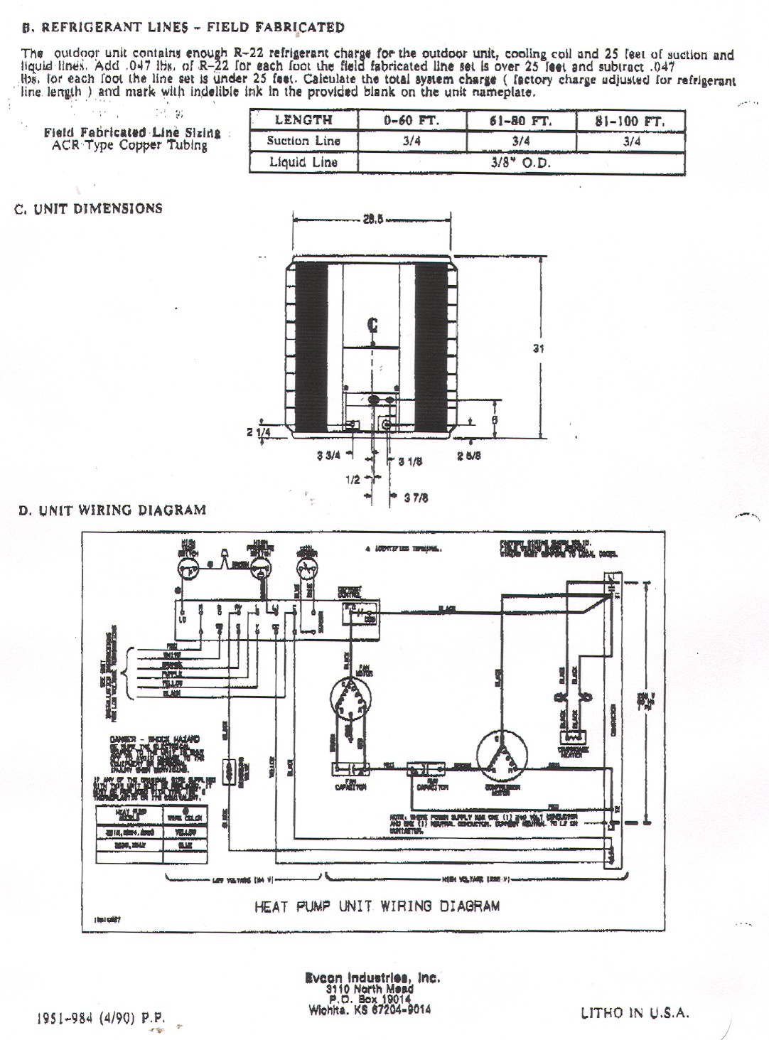 hight resolution of york heat pump wiring diagrams simple wiring diagram rh david huggett co uk coleman evcon heat