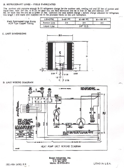 small resolution of york heat pump wiring diagrams simple wiring diagram rh david huggett co uk coleman evcon heat
