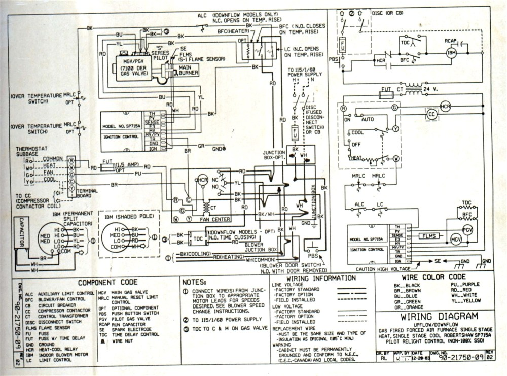 medium resolution of heil electric furnace wiring diagram