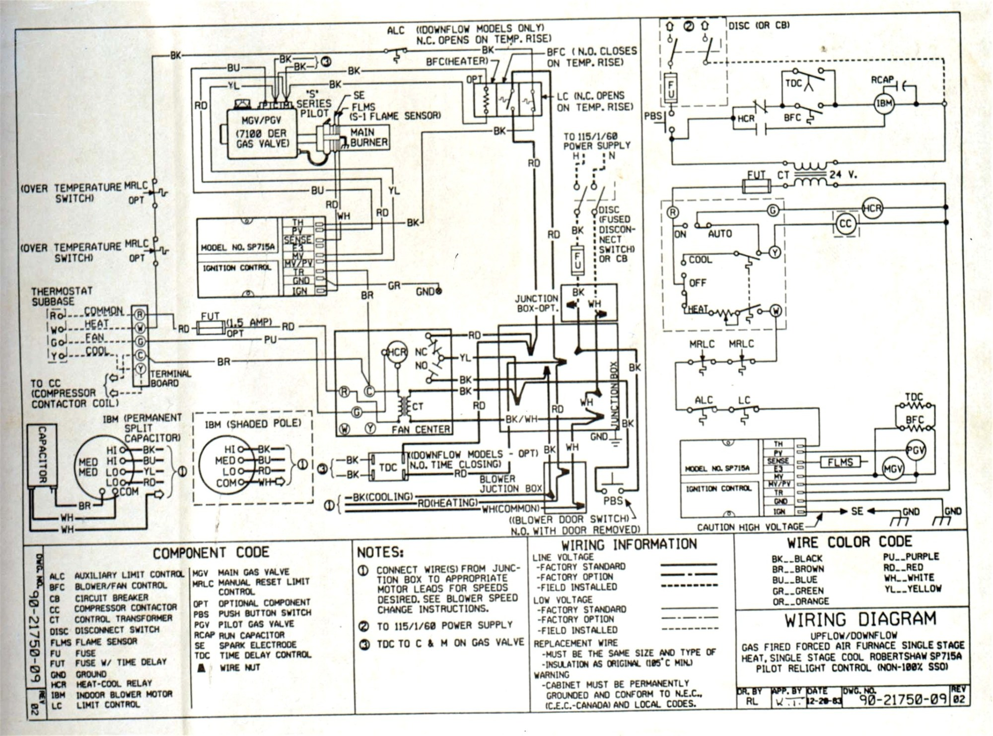 hight resolution of heil electric furnace wiring diagram