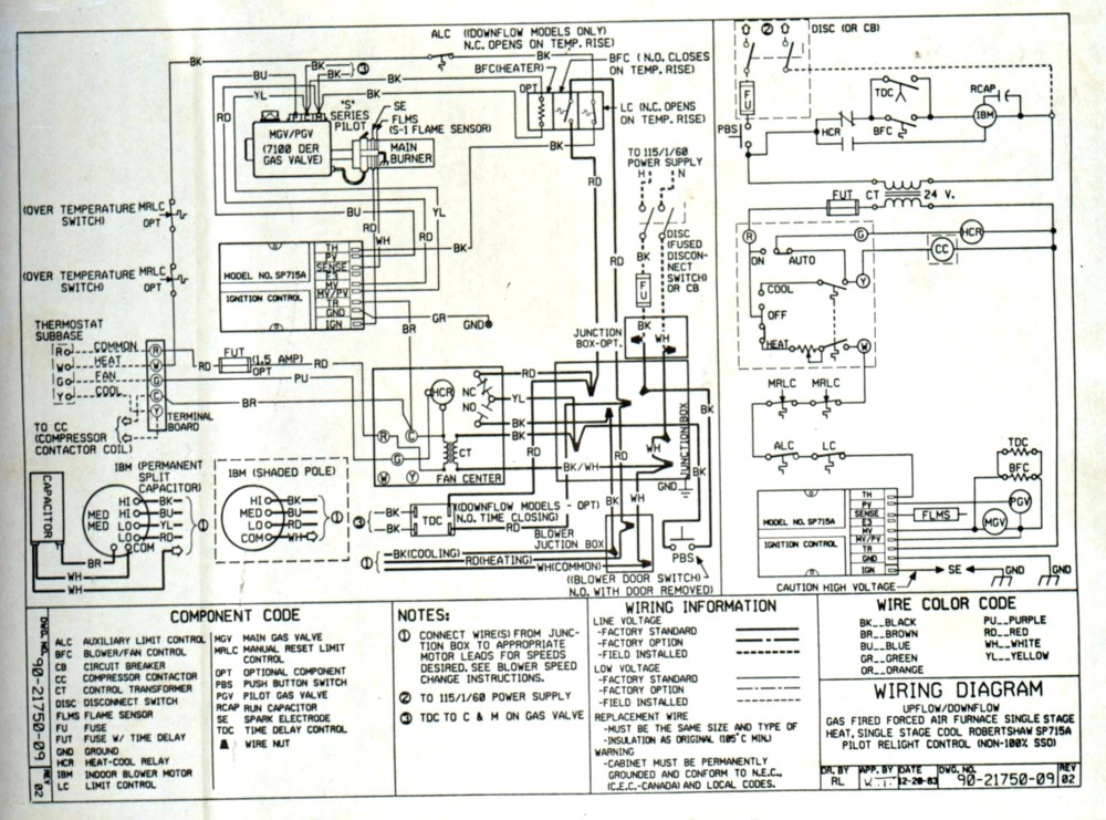 medium resolution of wiring luxaire schematic g8c100120ds11 wiring diagram name ac disconnect wiring diagram free download schematic source mobile home