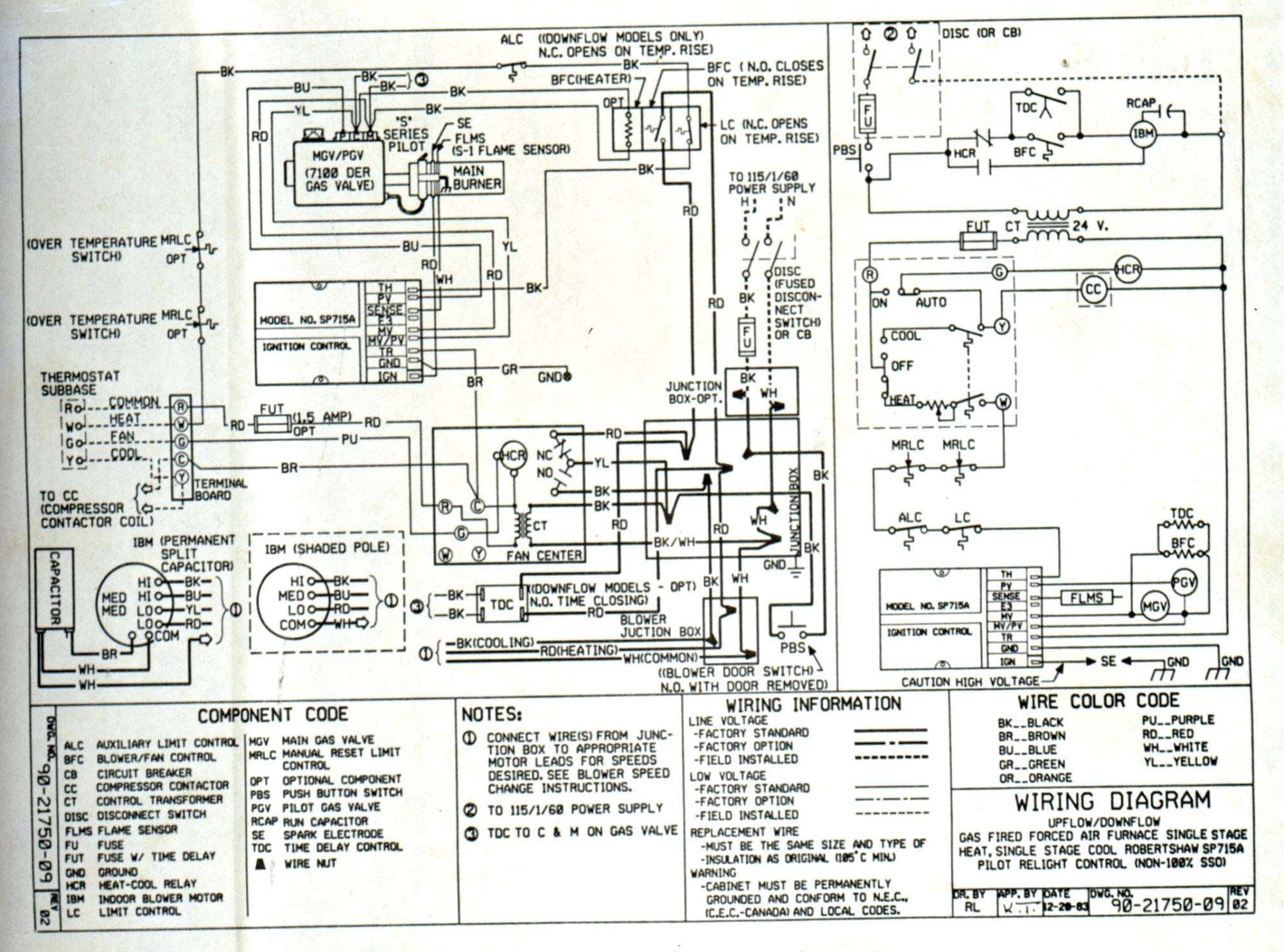 hight resolution of wiring luxaire schematic g8c100120ds11 wiring diagram name ac disconnect wiring diagram free download schematic source mobile home