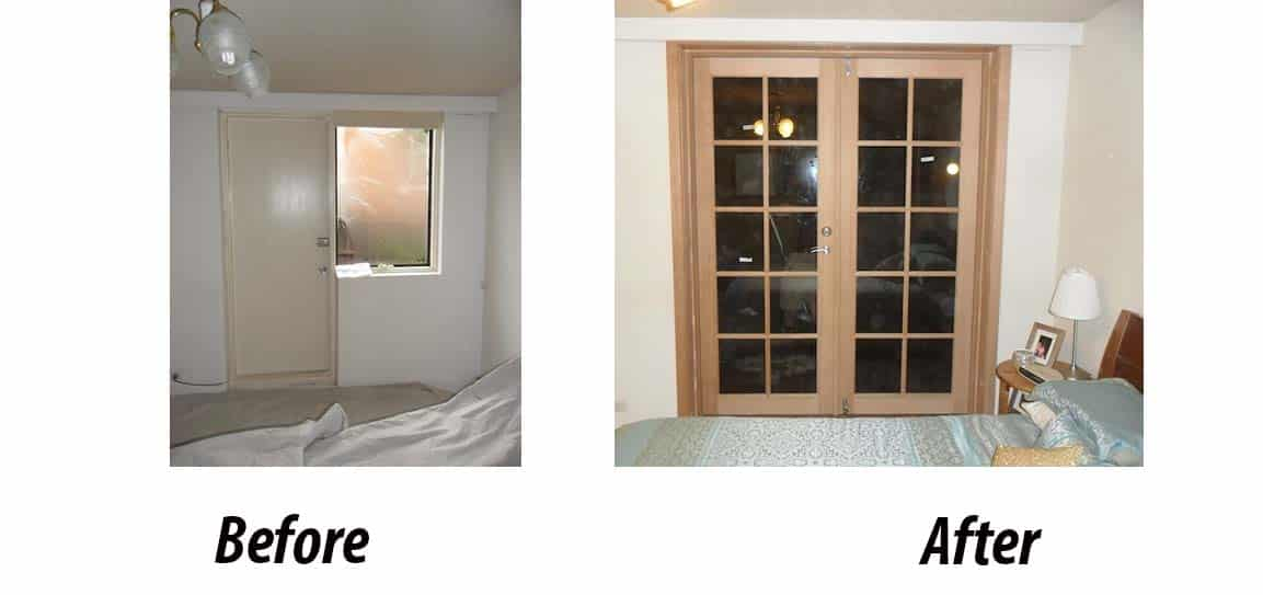 Timber French Double Doors In Melbourne Facelift Windows