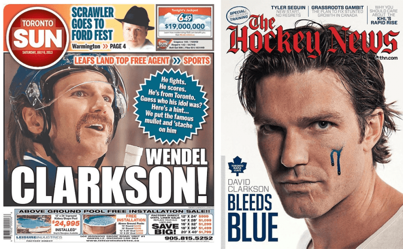 An Ode To David Clarkson