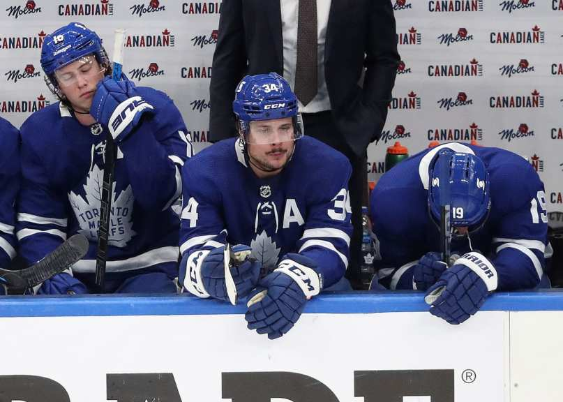 The Maple Leafs got too cute, and paid the price
