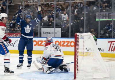 Leafs win preseason debut over Montreal