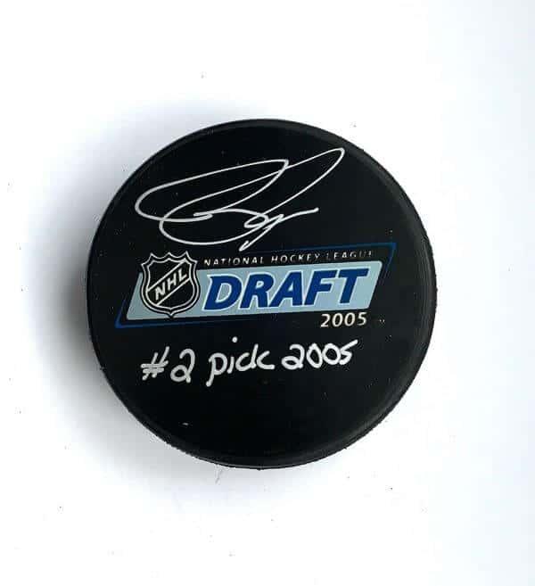 Bobby Ryan Autographed Draft Puck 1