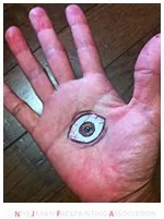 フェイスペイントモチーフ:目