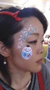 フェイス&ボディペインティング技能検定1級資格・認定講座【横浜会場】開催報告 の画像