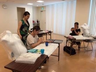 マタニティペイント資格 認定講座【大阪会場】開催報告の画像