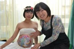 竹内七恵さん 妊婦さん&作品と