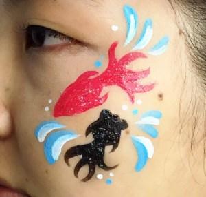 ペイントデザイン「金魚すくい」の画像