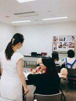 東京2級資格認定講座の様子