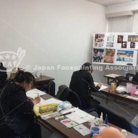 フェイス&ボディペインティング技能検定2級資格認定講座_福岡