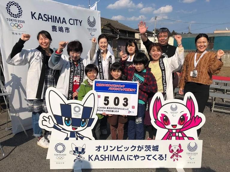 「フェイスペイントで2020オリンピックを盛り上げる(茨城県鹿嶋市)講習会×体験の画像