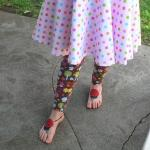 Ladybug Sandals