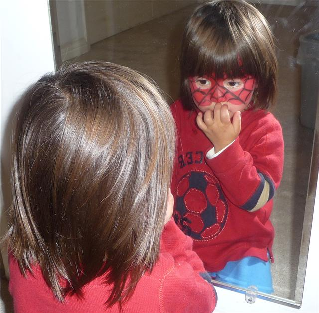 Spider Kids face-painting
