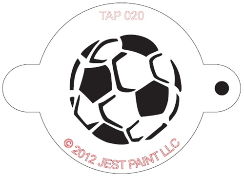 TAP 020 Face Painting Stencil