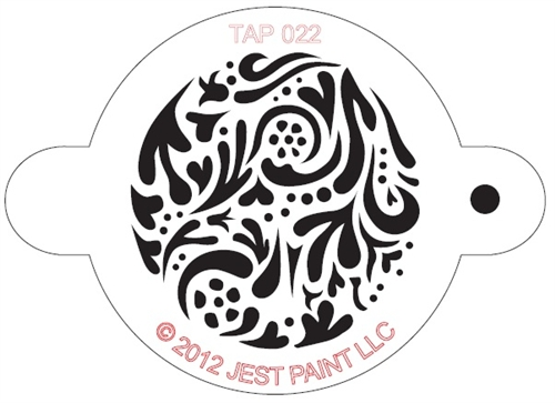 TAP 022 Face Painting Stencil