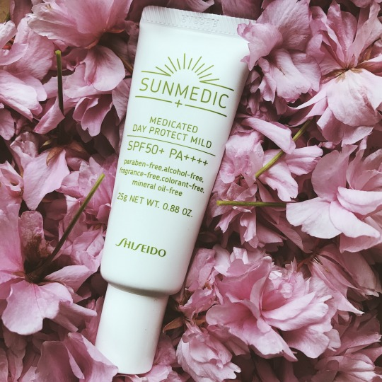 [REVIEW] Shiseido SUNMEDIC UV Medicated Day Protect Mild SPF 50+ PA++++