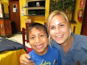 Leah and kid