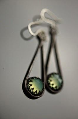 Chalcedony Earring