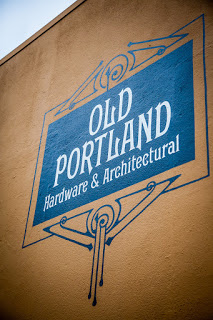 Old Portland Building Sign