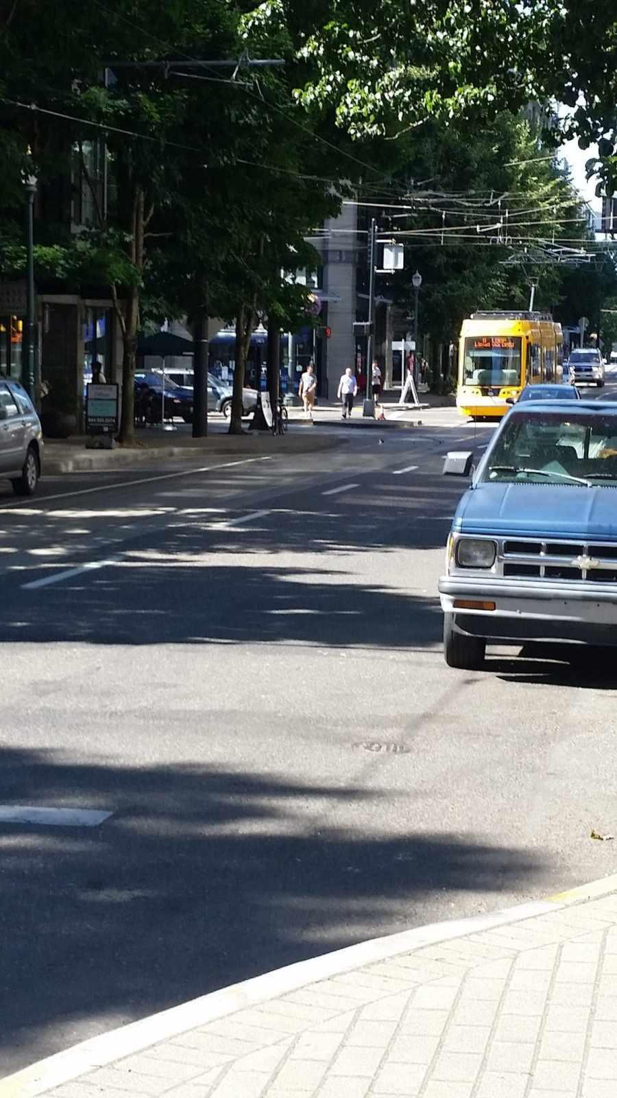 Portland Street Arriving